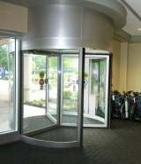 interior-view-of-revolving-door