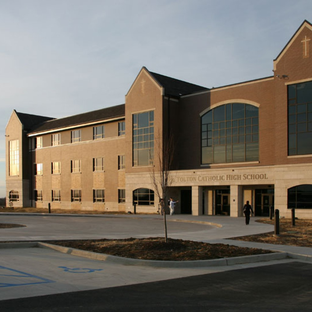 PCE Custom Custom Construction - Tolton Catholic High School Exterior